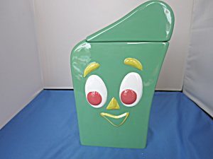 Gumby Pokey Cookie Jar Premar Toy Co