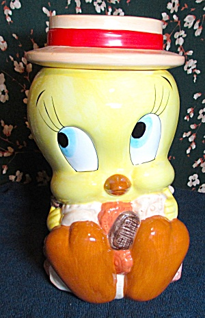 Tweety Bird Cookie Jar Looney Tunes 1993 Warner Bros