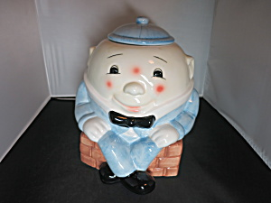 Treasure Craft Humpty Dumpty Cookie Jar