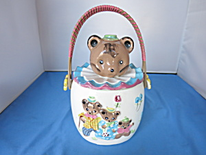 Lipper And Mann Three Bears Cracker Biscuit Cookie Jar