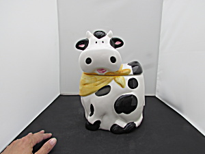 Cooks Club Cow Cookie Jar Taiwan