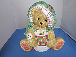 Enesco Cherished Teddies Priscilla Hillman Cookie Jar