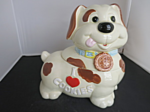 Benjamin Medwin Puppy Cookie Jar