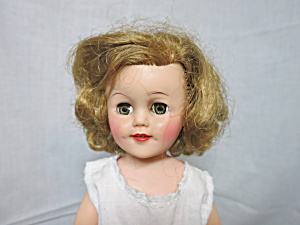 Shirley Temple Ideal Doll 15 Inch Not Original Clothing