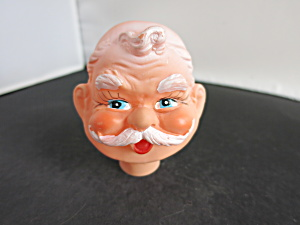 Vintage Santa Doll Head Crafting Marked Dai Japan