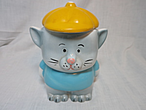 Cat Kitten Kitty Cookie Jar Biscuit Jar Taiwan