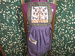 Hand Crafted Quilted Apron New Beautiful Cotton