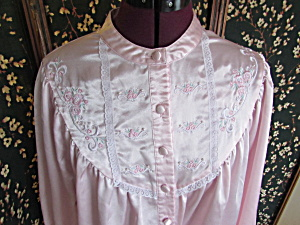 Vintage Ashley Taylor Nightgown Size Small Pink