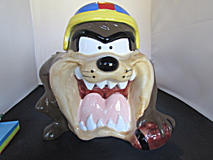 Tazmanian Devil 1993 Warner Brothers Cookie Jar