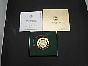 United States Mint Holiday Ornament 1996 Kennedy Half D