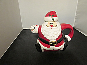 Santa Teapot Made In China Perfect Christmas Ho Ho Ho