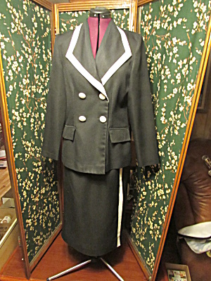 Tower Hill Collection Knit Blazer And Skirt Size 8