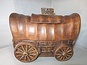 Treasure Craft Covered Wagon Cookie Jar