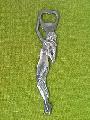 Art Nouveau Bottle Opener Nude Woman