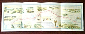 Pony Express Route Map Howard Driggs