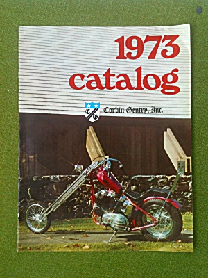 1973 Corbin Gentry Motorcycle Catalog