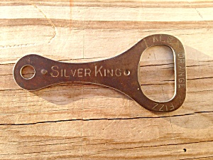Silver King Bottle Opener Ale Orange Fizz