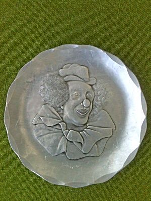 Wendell August Hammered Aluminum Clown Plate