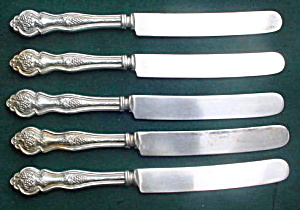 (5) Lakeside Grape/vineyard Dinner Knives