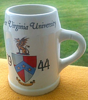 1944 West Virginia University Fraternity? Mug