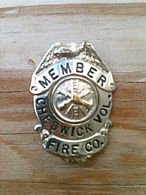 Old Badge Cheswick Volunteer Fire Pittsburgh?