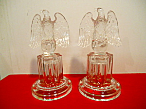 Pr. Imperial Candlewick Eagle Bookends