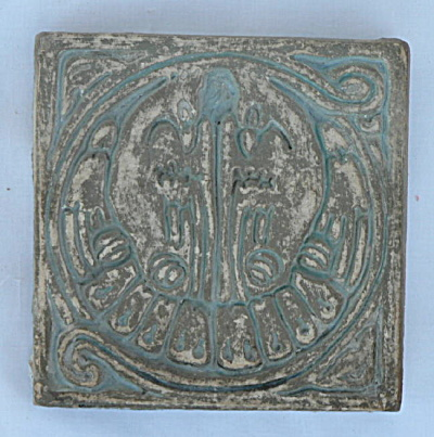 Batchelder Tile - Two Birds (#1)
