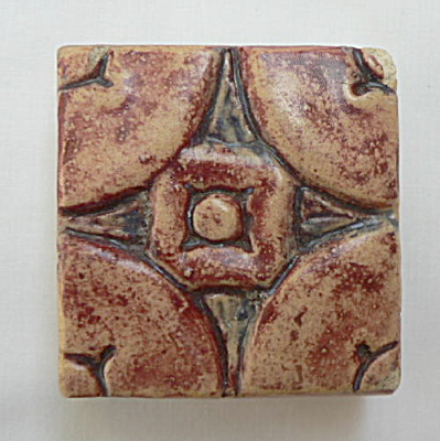 Batchelder Patina Glazed Tile
