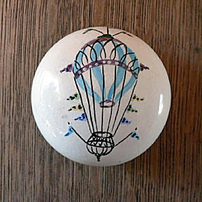 Hot Air Balloon Paperweight / Doorknob