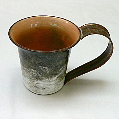 Nekrassoff Large Handled Mug - Brown