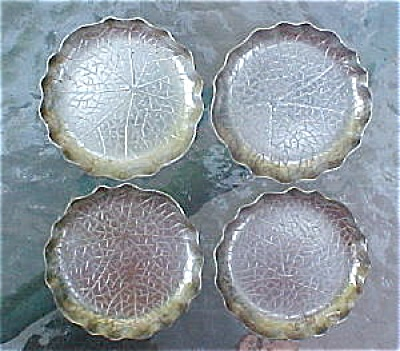 Wmf Silver Plate Nut Dishes