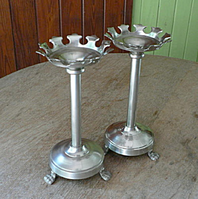Metal Candleholders For Pillar Candles