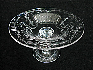 Vintage Pairpoint Engraved Compote