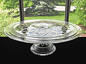 Imperial Cape Cod Footed Cake Plate