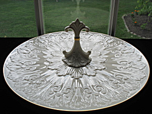 Lenox Chateau Collection Center Handled Serving Tray
