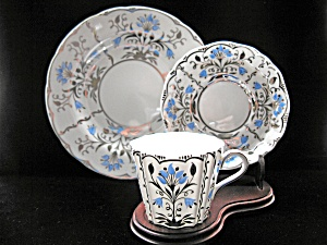 Wedgewood Stunning Bone China Trio
