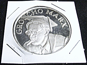 Groucho Marx Fine Silver Commemorative Coin Rare