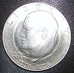 Eisenhower Dollar Double Golden Anniversary Rare.