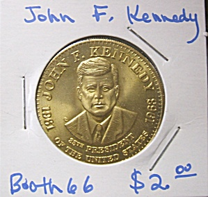 John F. Kennedy Commemorative Token