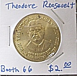Theodore Roosevelt Commemorative Token