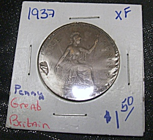 Great Britain Penny 1937 Xf