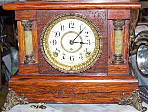 Antique Seth Thomas Windup Mantle Clock, Circa Late 1800's