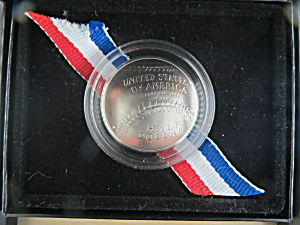 2014-d Baseball Hall Of Fame Uncirculated 1/2 Dollar, United States Mt