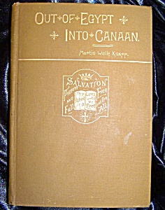 Out Of Egypt Into Canaan 1889 Hc By Martin Wells Knapp