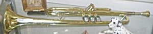 Bach Trumpet With 24 Karat Gold Plated Mouthpiece