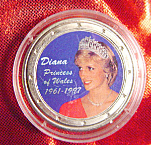 Princess Diana 1961-1997 Commemorative Silver Coin