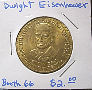 Dwight Eisenhower Commemorative Token.