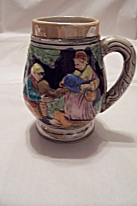 Occupied Japan Ceramic Beer Stein