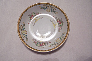 Vintage Taiko Floral Pattern Porcelain Bread Plate