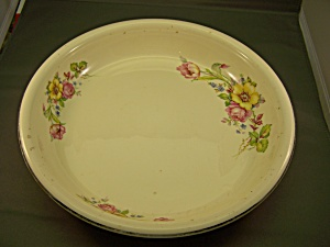 Vintage Homer Laughlin Deep Dish Pie Plate